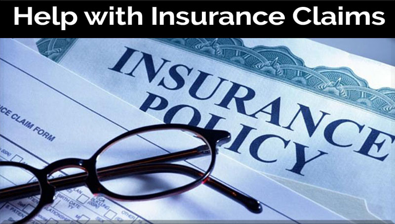 Working with Insurance companies example photo